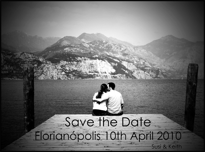 Save the date: Susi + Keith