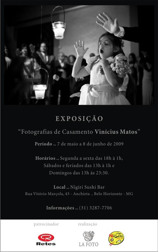 Minha Exposição em Belo Horizonte