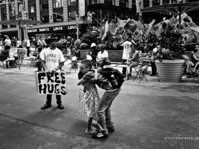 Free Hugs in New York