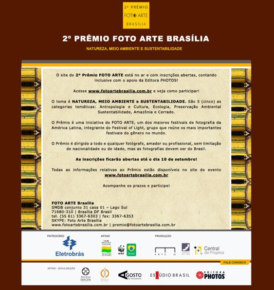 Segundo Prêmio Foto Arte Brasília
