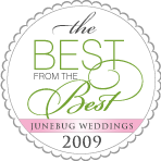 The World`s best wedding photos 2009: by Junebug Weddings