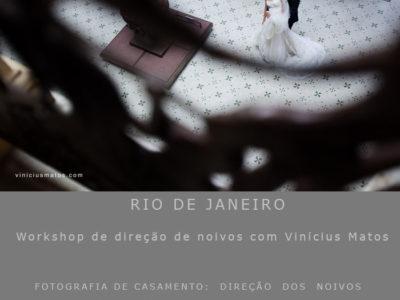 Workshop de direção de noivos no RJ