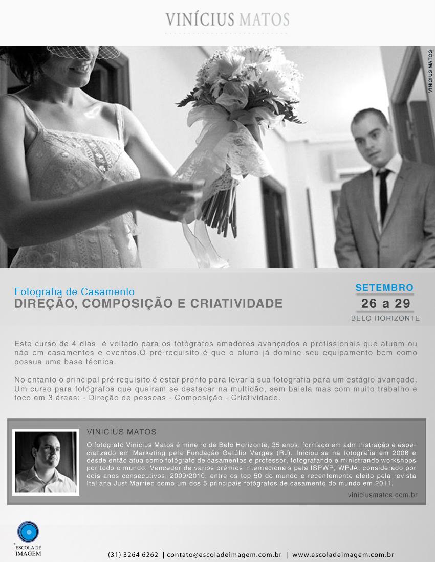 Criatividade, composição e direção em Belo Horizonte