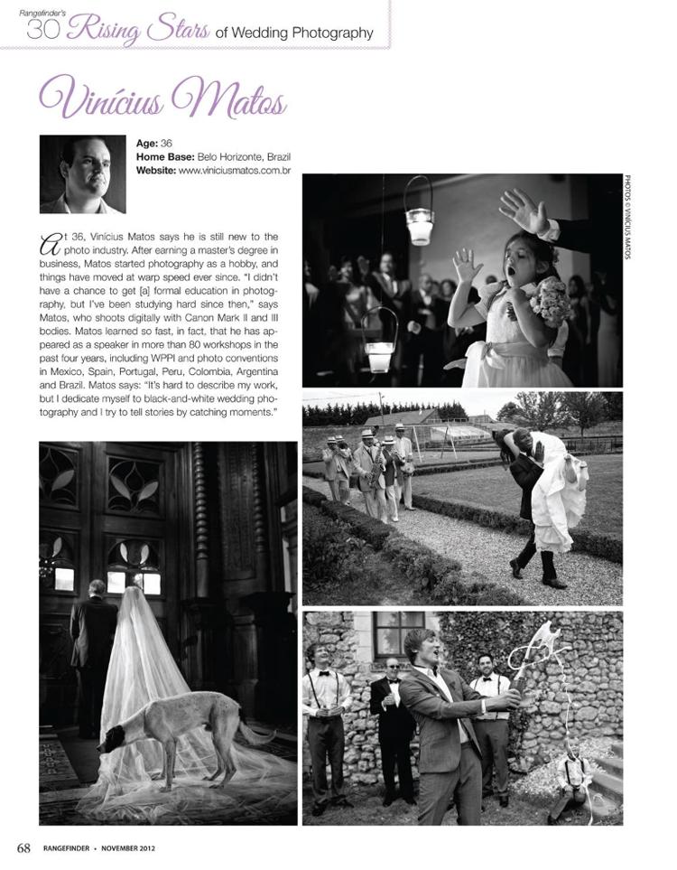 30 rising stars of wedding photography: grito preso na garganta
