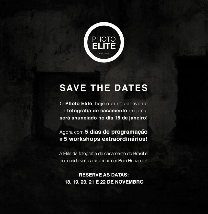 Save the dates: Photo Elite 2013