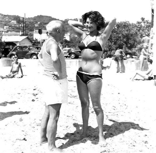 Antigamente na praia (fotos históricas)
