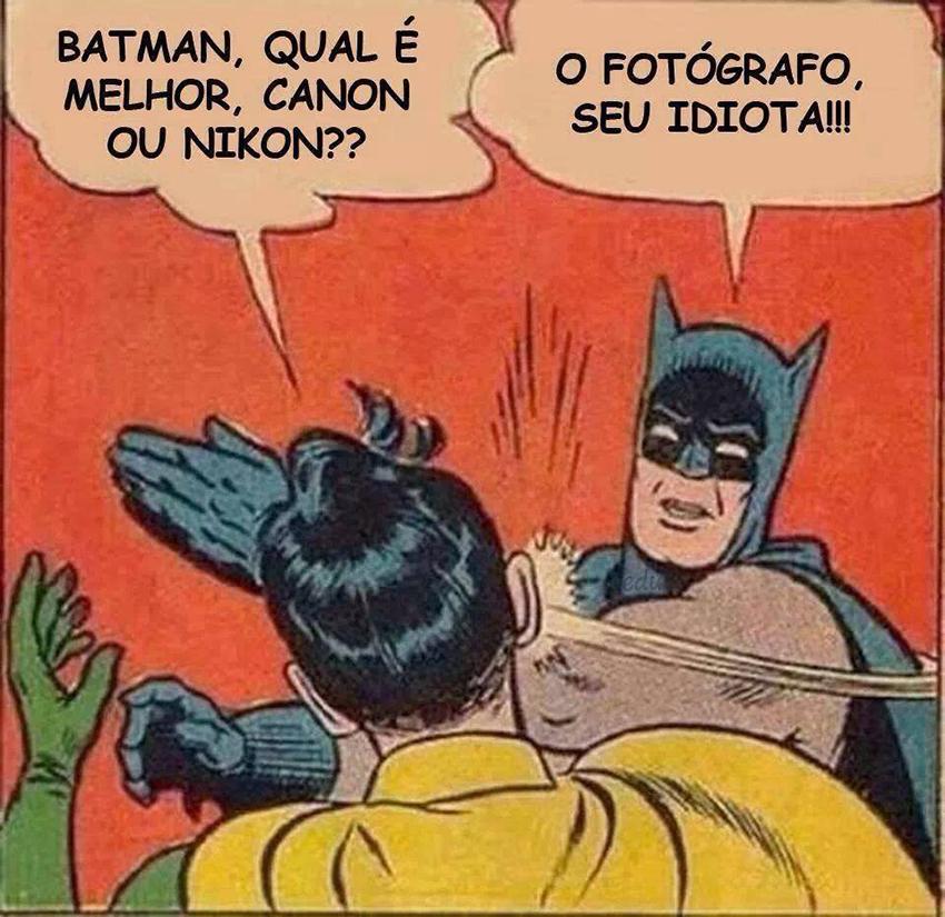 Canon ou Nikon?