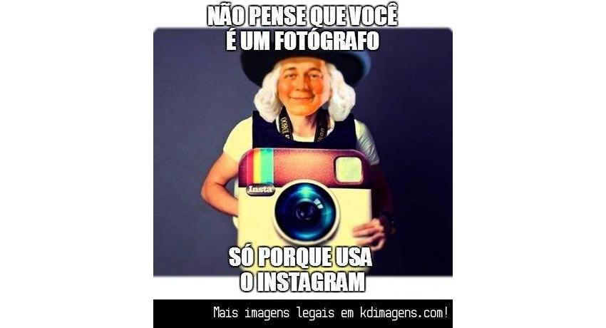 Caça aos fotógrafos de instagram?