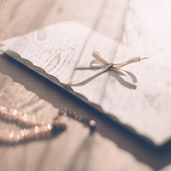 A emocionante carta de uma noiva!